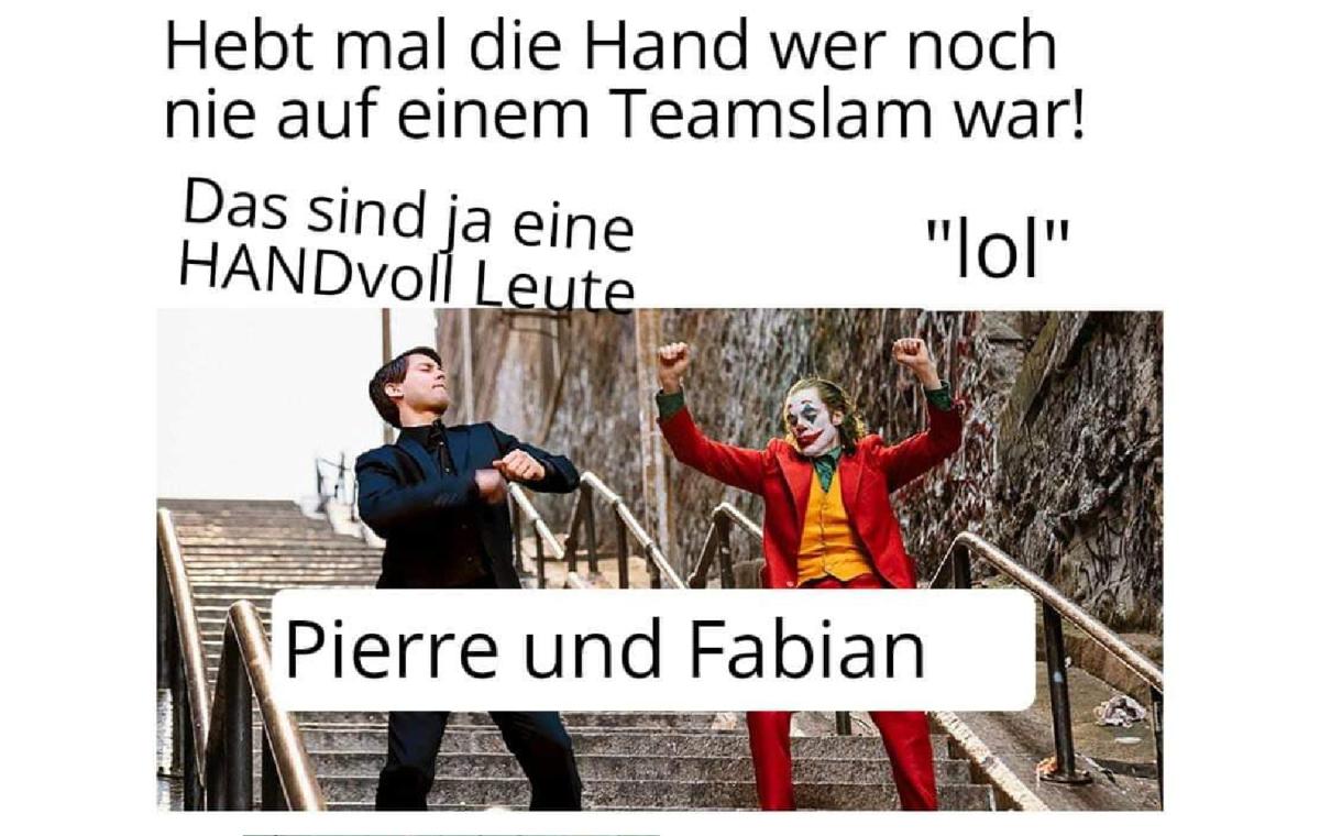 """Ein origineller """"mir fällt später noch was besseres ein"""" Titel – Rückblick auf den u20 Slam Erfurt"""