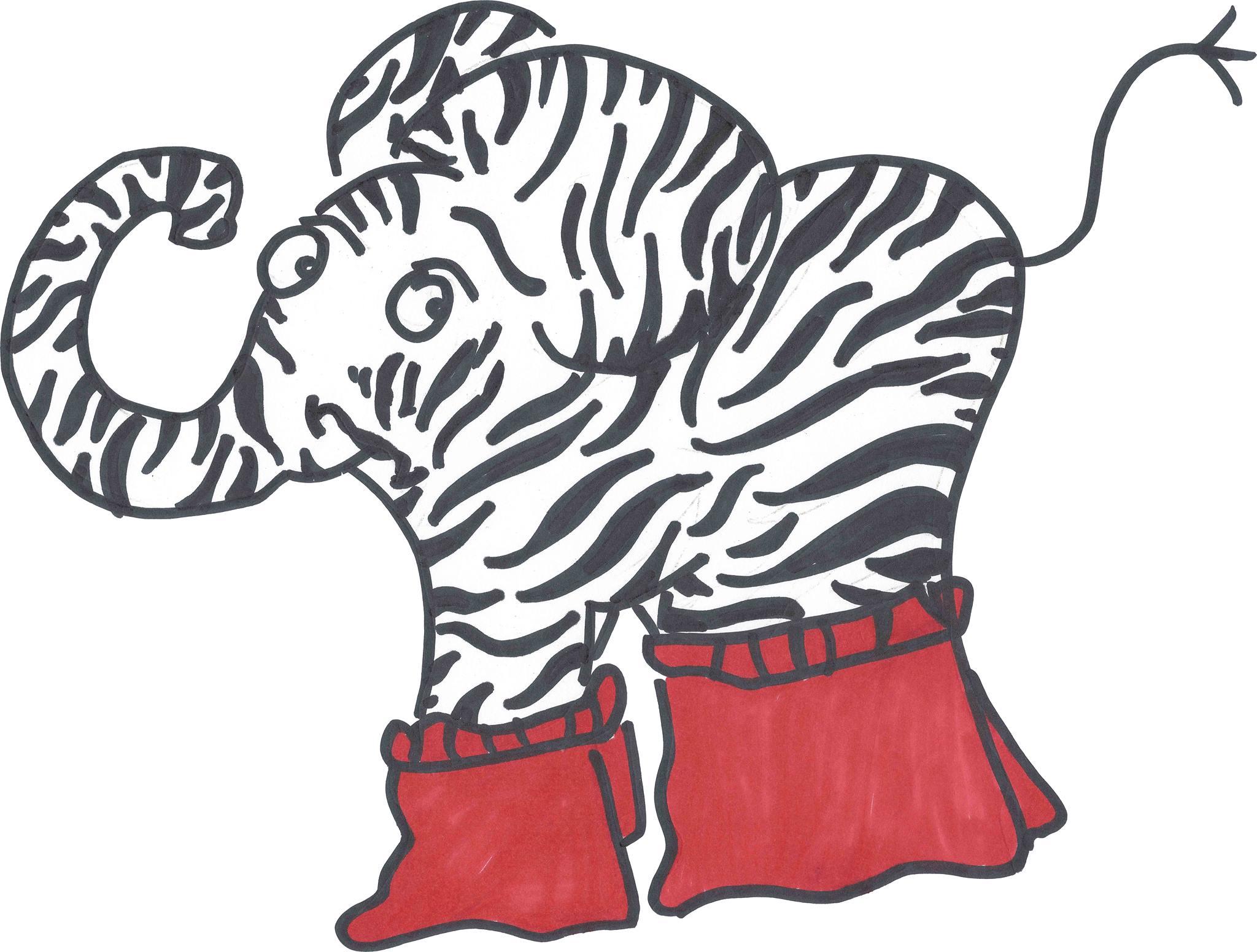 Zebrafanten Slam-Show